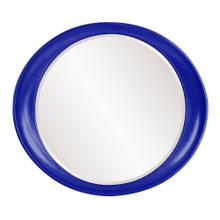 See Details - Ellipse Mirror - Glossy Royal Blue