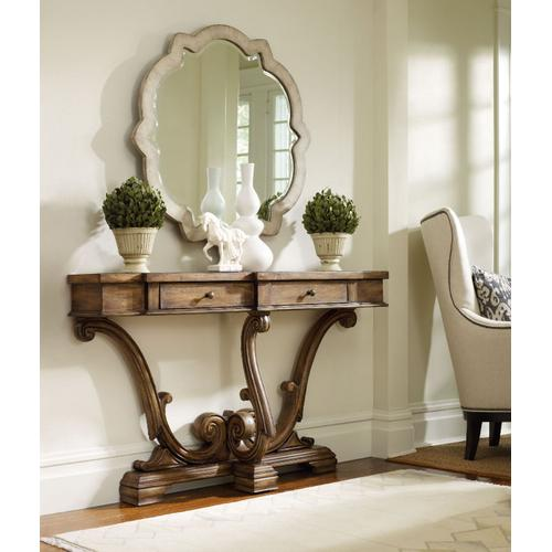 Hooker Furniture - Sanctuary Thin Console-Amber Sands