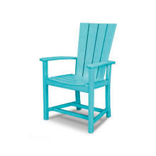 View Product - Quattro Adirondack Dining Chair in Aruba