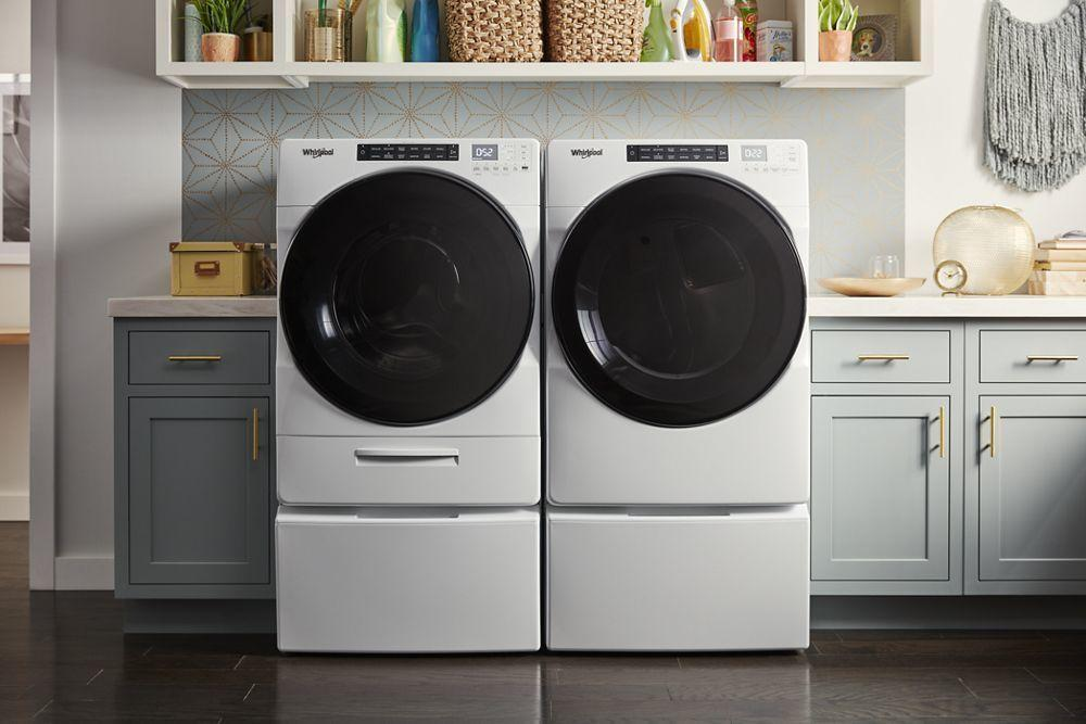 4.5 cu. ft. Closet-Depth Front Load Washer with Load & Go XL Dispenser Photo #4