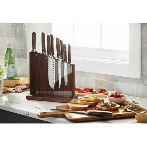 KitchenAid - Architect® Series Natural Series Cutlery 11 Piece Set - Walnut