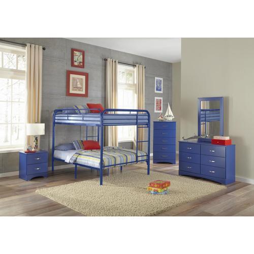 Gallery - Royal Blue Full/Full Bunkbed