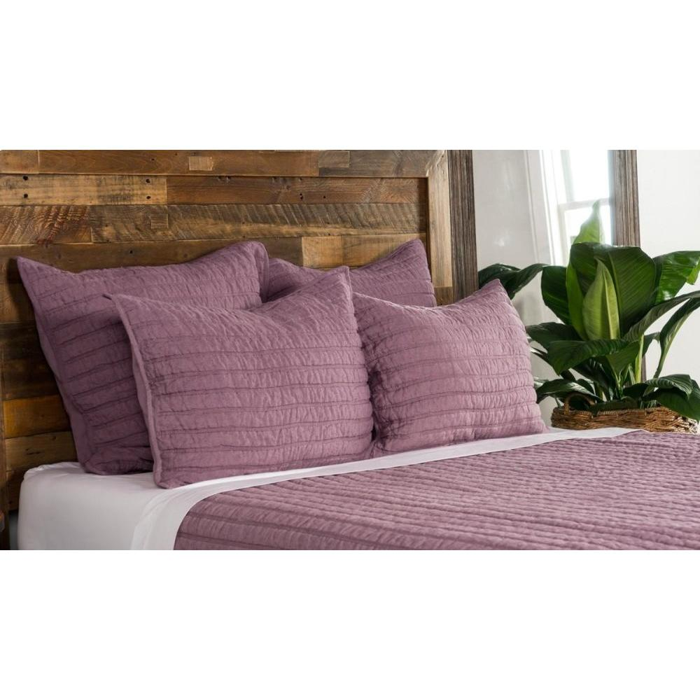 Heirloom Orchid Quilt 6Pc King Set