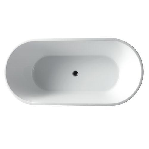 "Patrick 67"" Acrylic Tub"