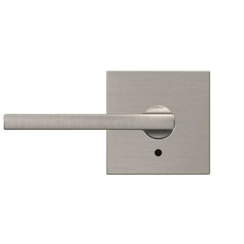Custom Latitude Non-Turning Lever with Collins Trim - Satin Nickel