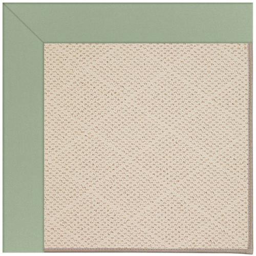 "Creative Concepts-White Wicker Canvas Celadon - Rectangle - 24"" x 36"""