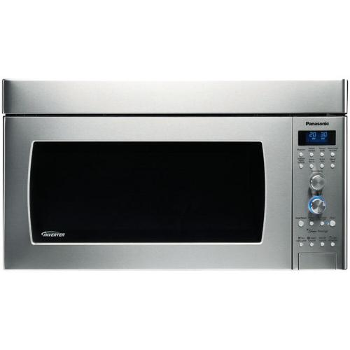 Luxury Full Size 2.0 Cu. Ft. Genius Prestige Over-the-Range Microwave Oven - Stainless