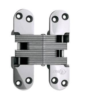 Model 220SS Stainless Steel Invisible Hinge Bright Stainless Steel Product Image