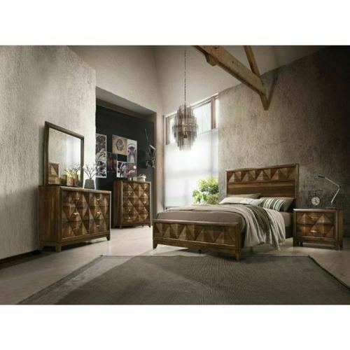 ACME Delilah Queen Bed - 27640Q - Walnut