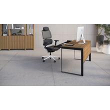 See Details - Linea 6221 Desk in Natural Walnut