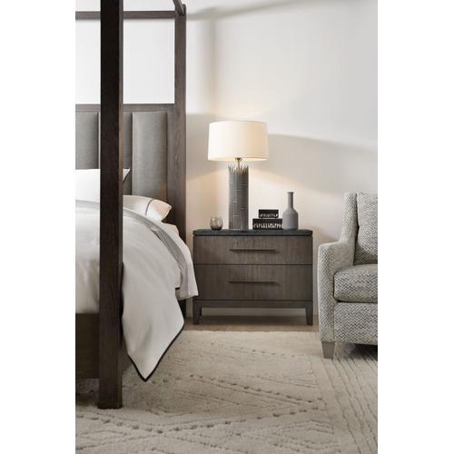 Bedroom Miramar Aventura San Marcos Stone Top Nightstand