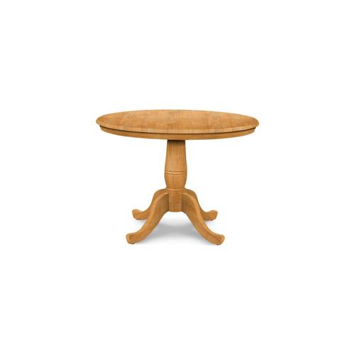 John Thomas Furniture - Round Table (top only) / Traditional Pedestal