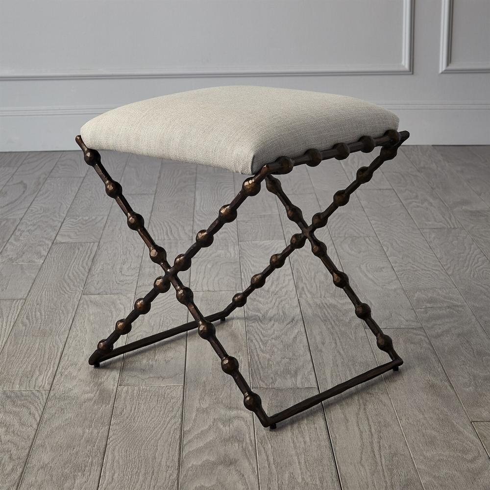 See Details - Elder Bench-Bronze-Cambric Stone