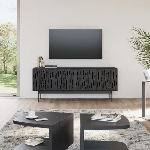 7379 Credenza TV Console in Ebonized Ash