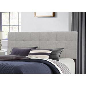 Delaney Headboard - King - Glacier Gray