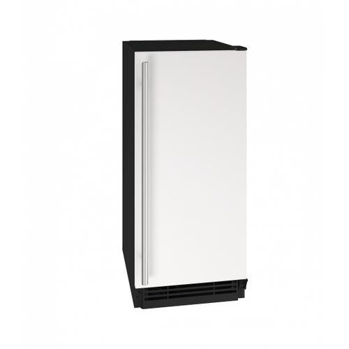 "U-Line - Hcr115 15"" Crescent Ice Maker With White Solid Finish (115v/60 Hz Volts /60 Hz Hz)"
