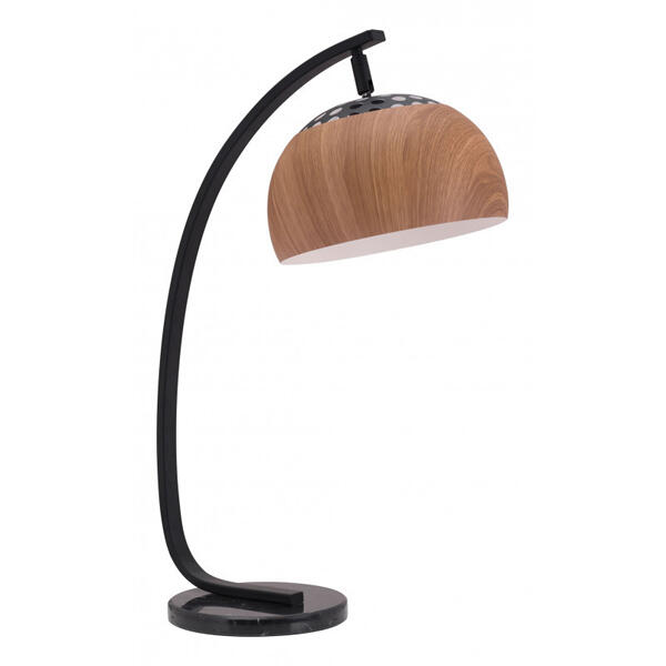 Brentwood Table Lamp Brown & Black