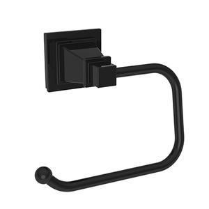 Gloss Black Open Toilet Tissue Holder