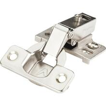 "1/2"" Overlay 125 Degree Cam Adjustable Face Frame Hinge without Dowels"