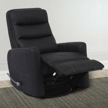 HERCULES - BLACK Manual Swivel Glider Recliner