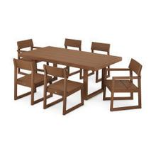 View Product - EDGE 7-Piece Dining Set in Teak