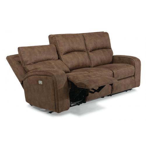 Rhapsody Power Reclining Sofa with Power Headrests