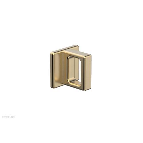 MIX Volume Control/Diverter Trim - Ring Handle 290-37 - Satin Brass