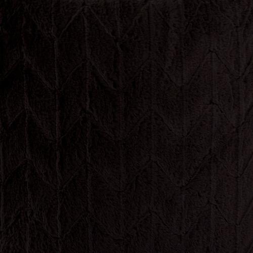 Howard Elliott - Scroll Puff Rocker Angora Ebony