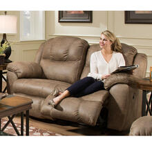 Victory Rocking/Reclining Loveseat - Tan