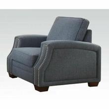 ACME Betisa Chair - 52587 - Light Blue Fabric