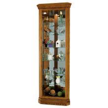 See Details - Howard Miller Dominic Corner Curio Cabinet 680485