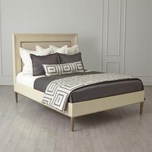 See Details - Ellipse King Bed-Ivory