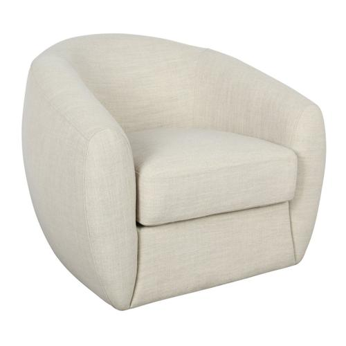 Classic Home - Dominic Swivel Accent Chair