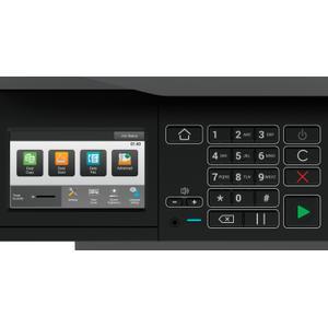 Sharp - MX-B467F 46 ppm B&W desktop Document system