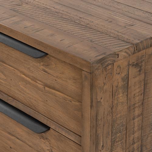 Four Hands - Rustic Sandalwood Finish Wyeth 3 Drawer Dresser