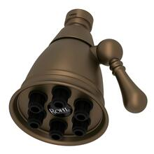 "English Bronze 2 7/8"" Mantova Adjustable Showerhead"