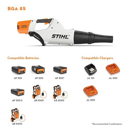 Gallery - The battery-powered handheld blower that combines high performance with low weight.