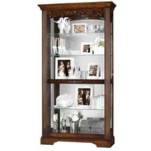 See Details - Howard Miller Hartland Curio Cabinet 680445