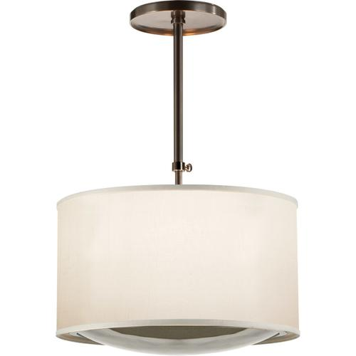 Barbara Barry Reflection 4 Light 24 inch Bronze Hanging Shade Ceiling Light