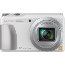 LUMIX DMC-ZS35 20X Long-Zoom Selfie Digital Camera - White