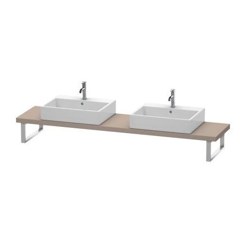 Product Image - Console For Above-counter Basin And Vanity Basin Compact, Basalt Matte (decor)