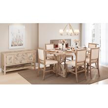 Fairview Ash Dining Extension Table Top