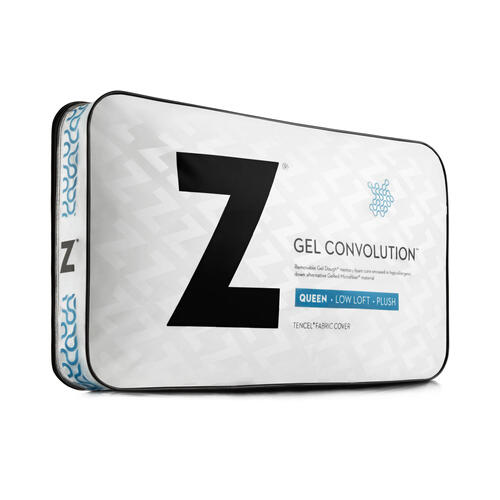 Gel Convolution Travel Low Loft
