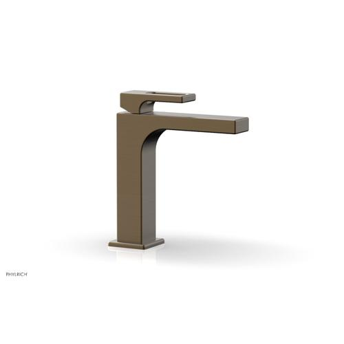 MIX Single Hole Lavatory Faucet, Ring Handle 290-07 - Old English Brass