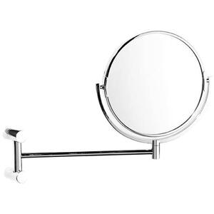 Brushed Gold Unlacquered Plain / magnifying (x5) pivotal mirror