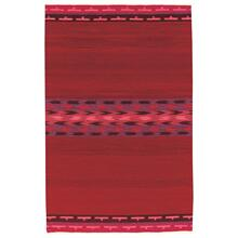 Woven Spirits-Navajo Strawberry Fields Flat Woven Rugs