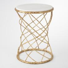 Product Image - Tango Accent Table-Gold Leaf