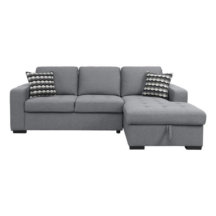 2-Piece Sectional with Hidden Storage