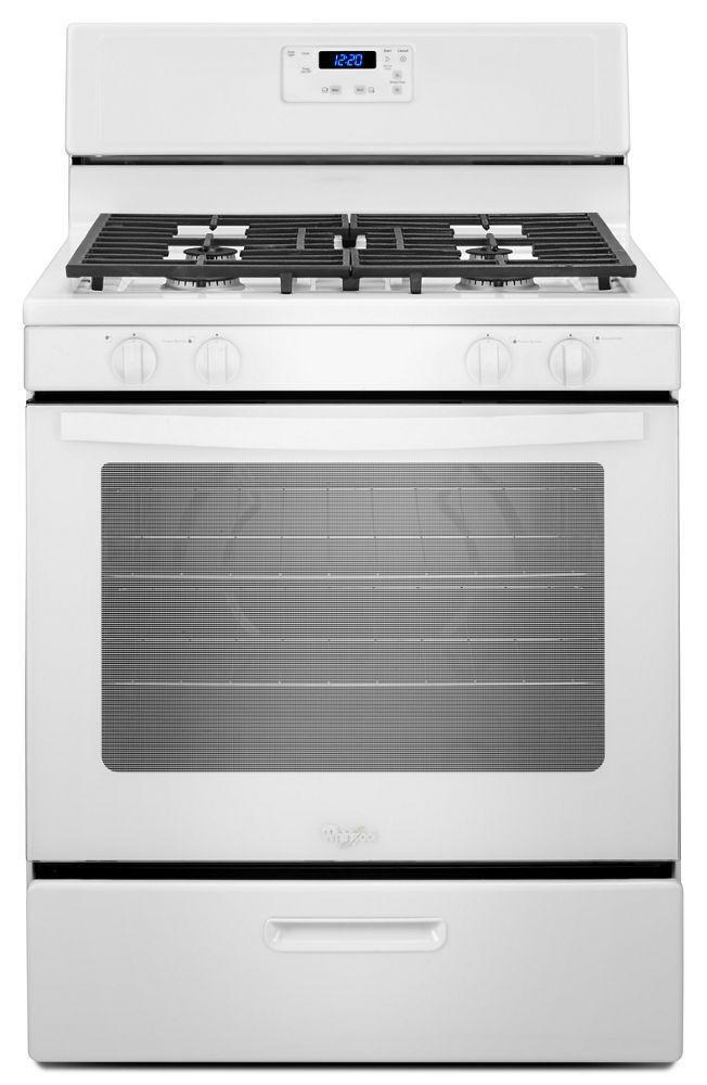 WhirlpoolWhirlpool® 5.1 Cu. Ft. Freestanding 4-Burner Gas Stove