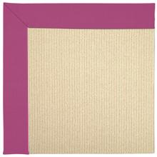 Creative Concepts-Beach Sisal Canvas Hot Pink Machine Tufted Rugs